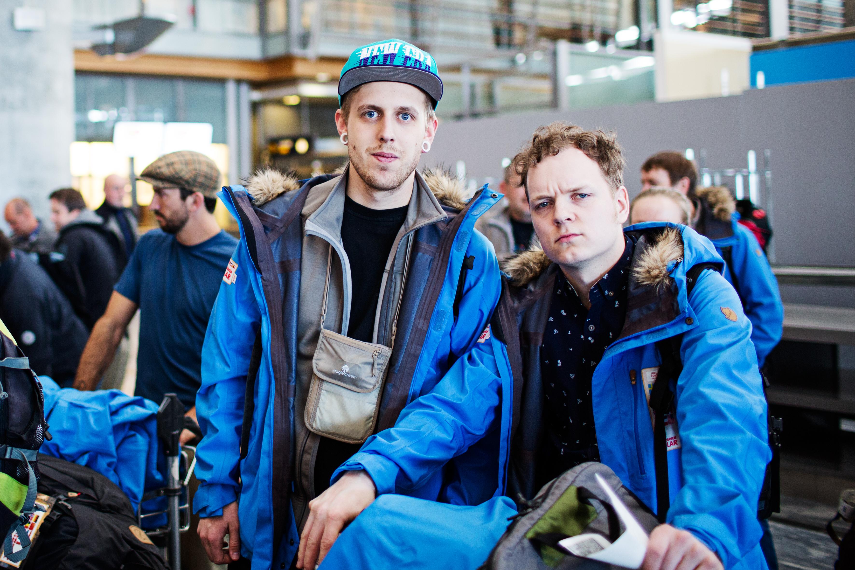 Rasmus & Joel. Photo by Joel Forsman.